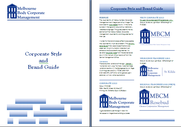 Corporate Style and Brand Guide